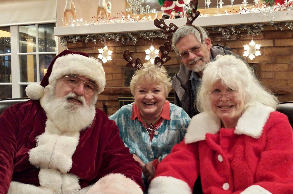 Bring your family to spend time with Santa
