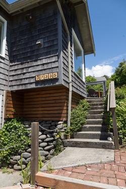 Oceanfront Bungalow Steps to our door