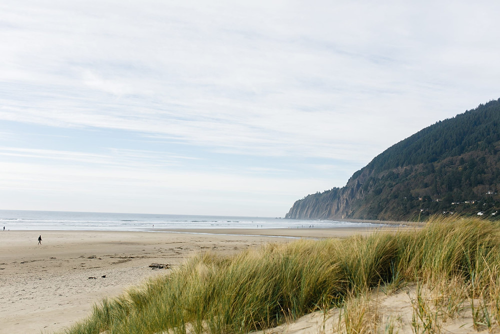 Neahkahnie Mountain on Manzanita Beach
