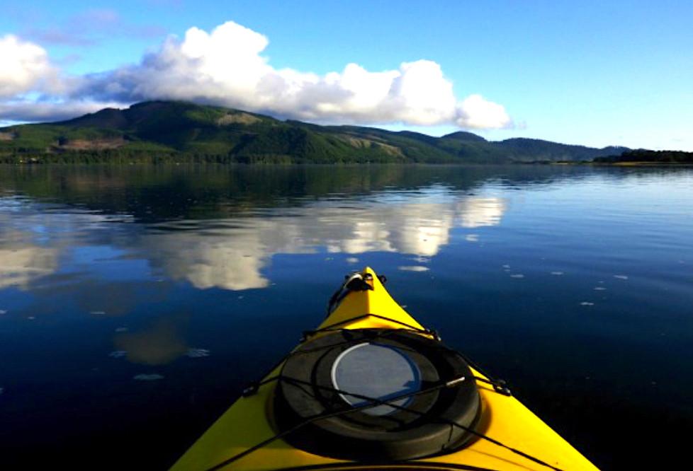 Kayaking Nehalem Bay