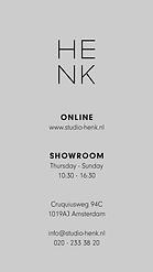 Studio HENK | Instagram Story