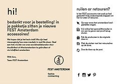 FEST Amsterdam | Customer Journey
