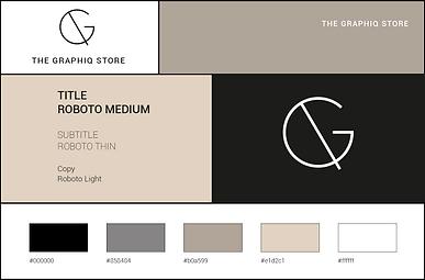 the graphiq store - corporate style