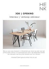 Studio HENK | Vacature design