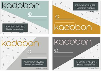 Veldhoven Interieur | Kadobon
