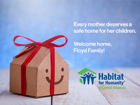 Floyd Family Home Dedication