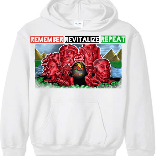 Remember Revitalize Repeat Hoodie