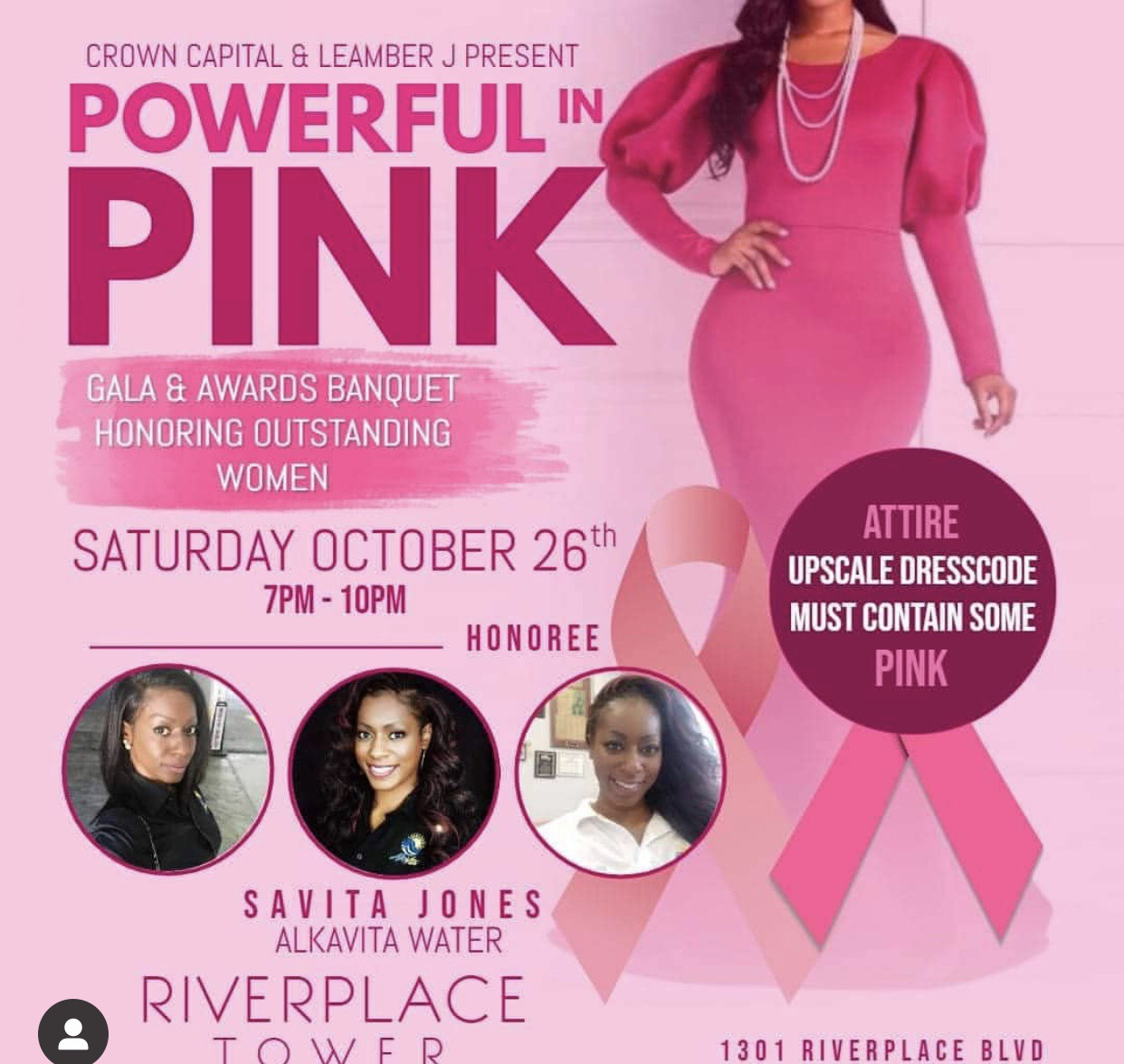 Powerful In Pink Gala