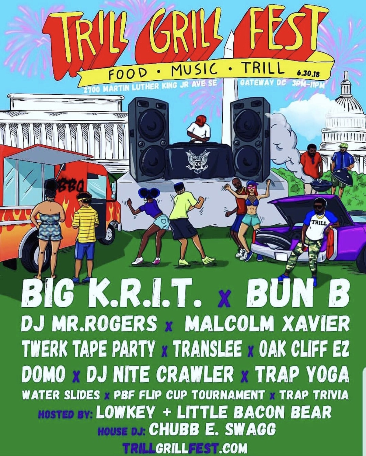 Trill Grill Fest by Howard University