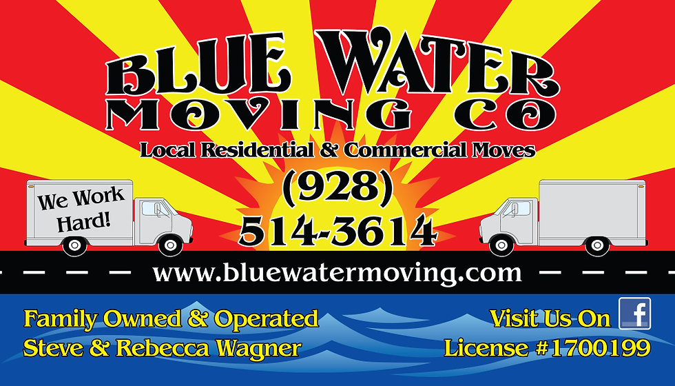 blue water moving company