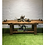 Mud play oak finish outdoor table for early years garden