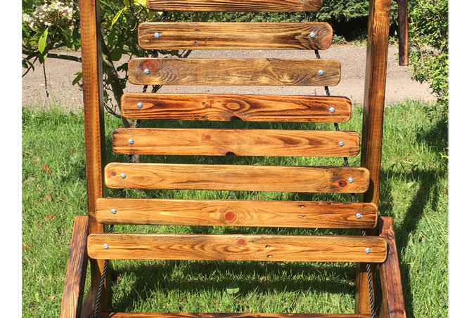 Wooden Xylophone Outdoor Music Frame