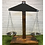 Giant wooden weighing scales for early years outdoor setting
