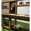 Early years mud kitchen bench play features close up