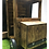 Role play outdoor wooden front of truck