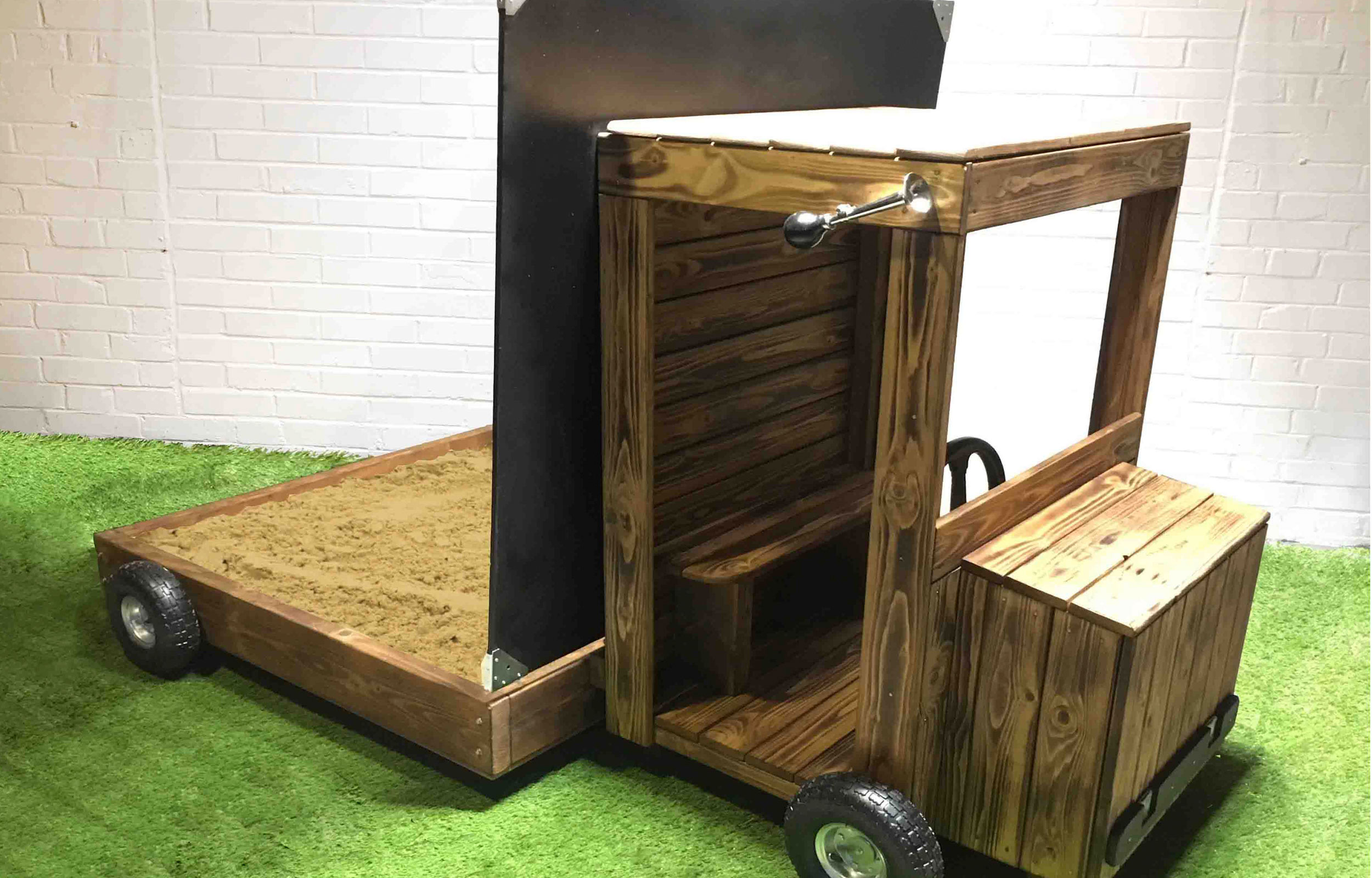 Children's outdoor role play truck