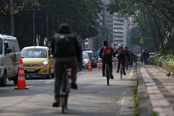 Distribución del espacio en vía para medios de transporte en la nueva normalidad