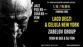 Jazz pod Kozákovem po třicáté páte