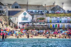 Summer on Porthgwidden - St Ives