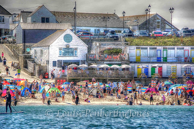 Summer on Porthgwidden - St Ives