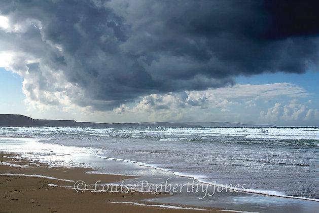 Stormy Skies - Perranporth