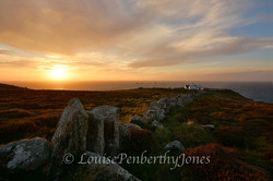 Lands End Sunset - One