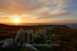 Lands End Sunset - One