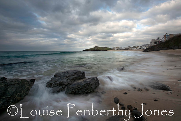 Waves on Porthmeor - St Ives
