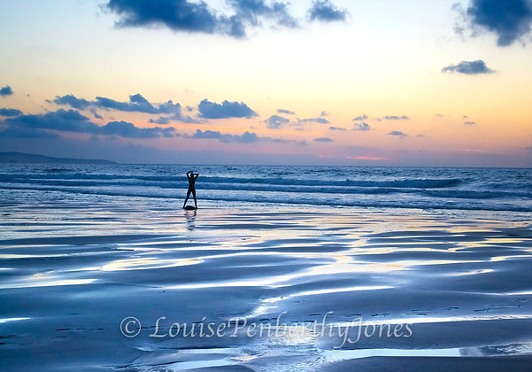 Blue Surf Girl - Chapel Porth