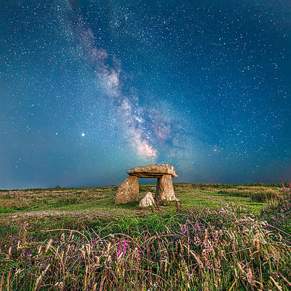 Milky Way at Lanyons Quoit