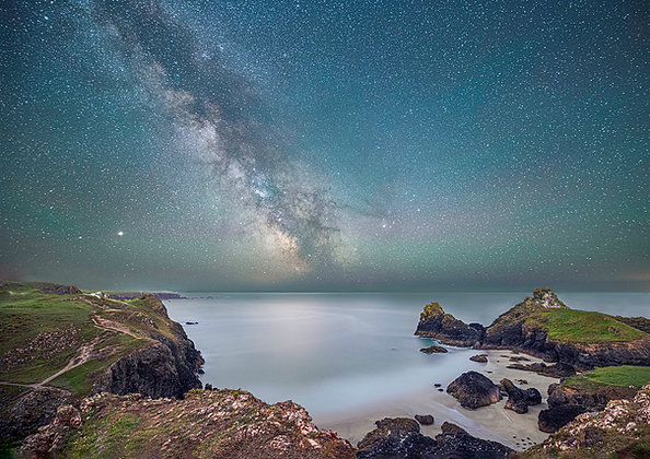 Milky Way from Kynance Cliffs