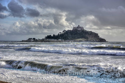 St Michaels Mount - Winter