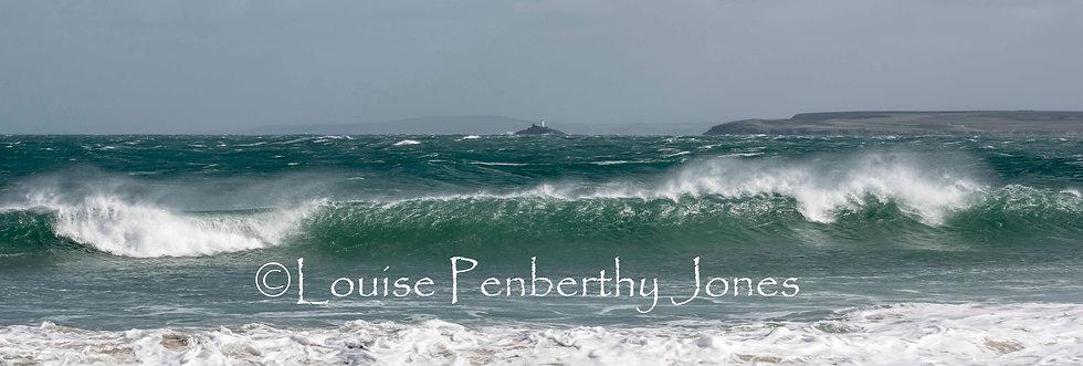 Waves off Porthgwidden - St Ives