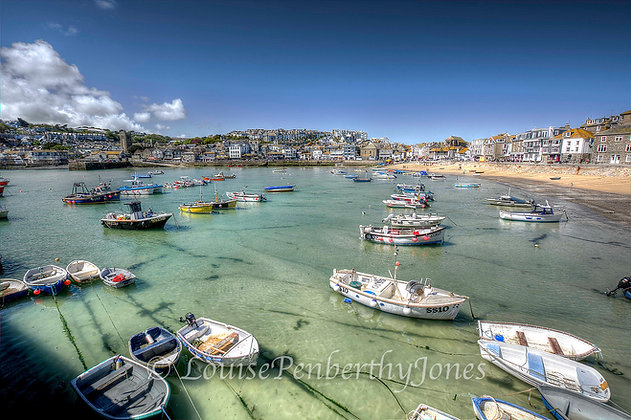 St Ives Fishing Boats