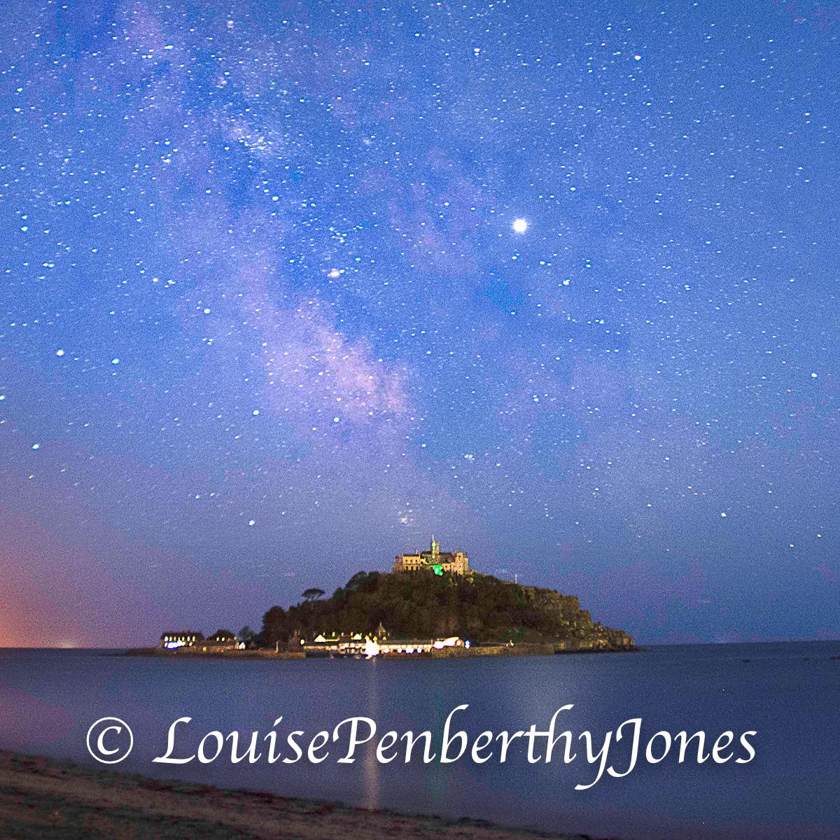 St Michaels Mount Milky Way