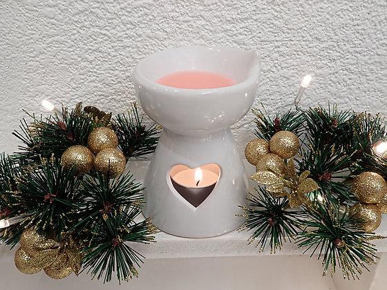Love Heart wax/oil warmer