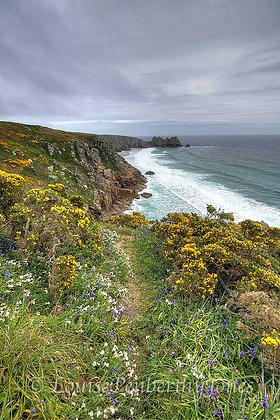 Treen Cliffs - From Porthcurno