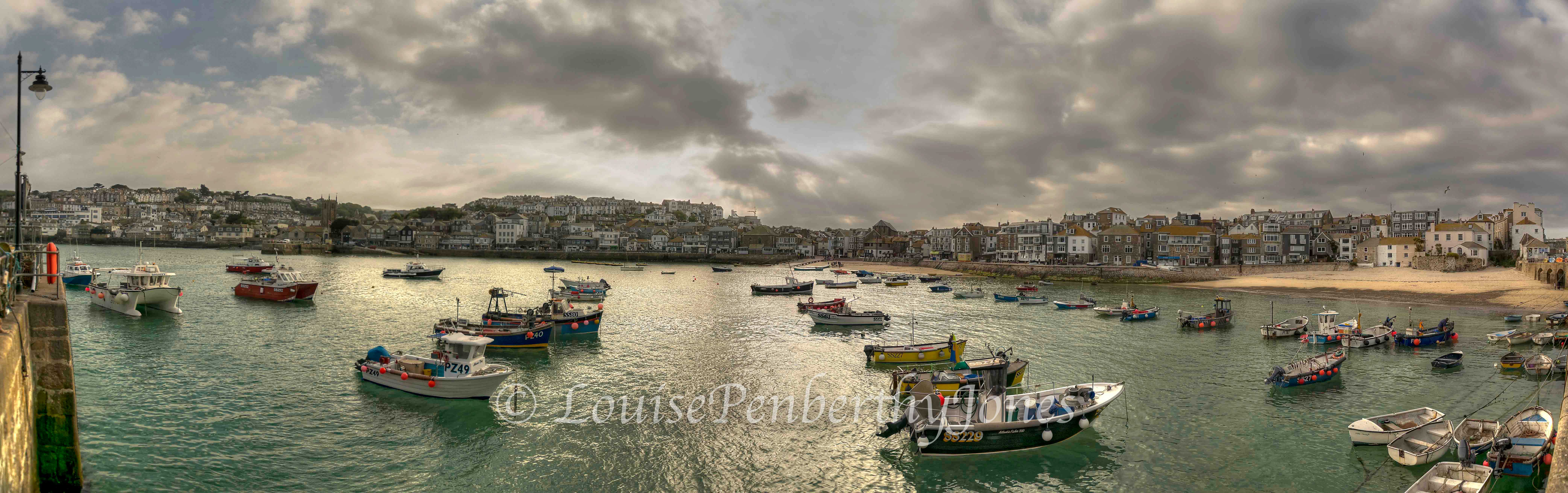Evening in St Ives Harbour-2.jpg