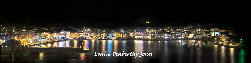 St Ives by Night from the Malakoff