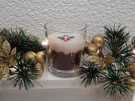 Christmas Pudding Candle - small