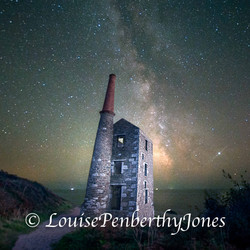 Milky Way at Wheal Prosper square
