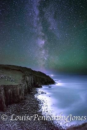 Milky Way over Porthgwarra