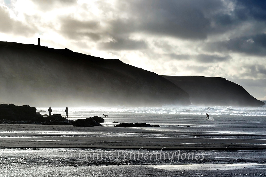 Winter on Porthtowan