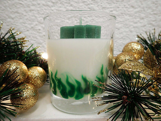 Winter Fir Candle - Small