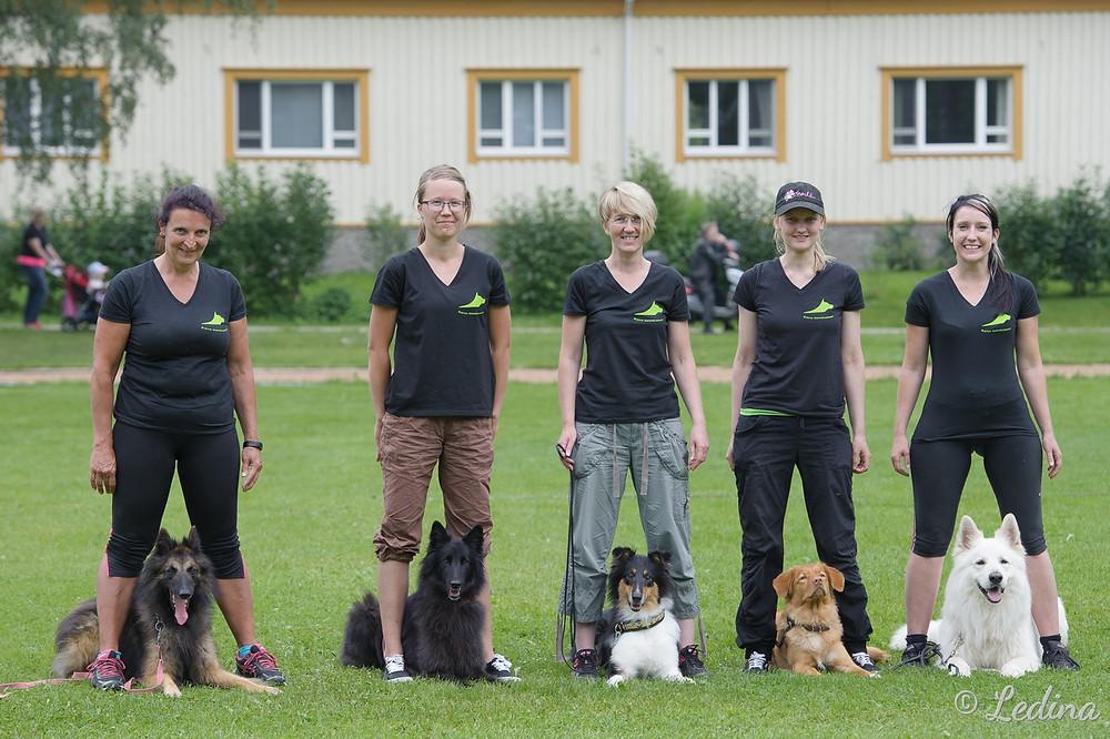 SM TOKo joukkue 2016 (C) Leena Partanen