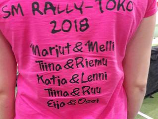 SM Rally-toko 2018