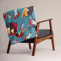Good Night Throw Blanket Home Decor