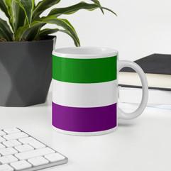 Suffragettes Flag Mug home decor