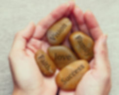 Inspirational Pebbles.