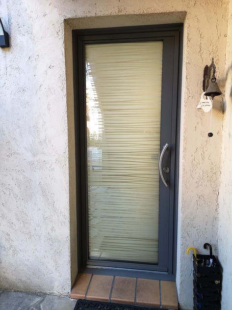 Porte d'entrée kline alu videmo